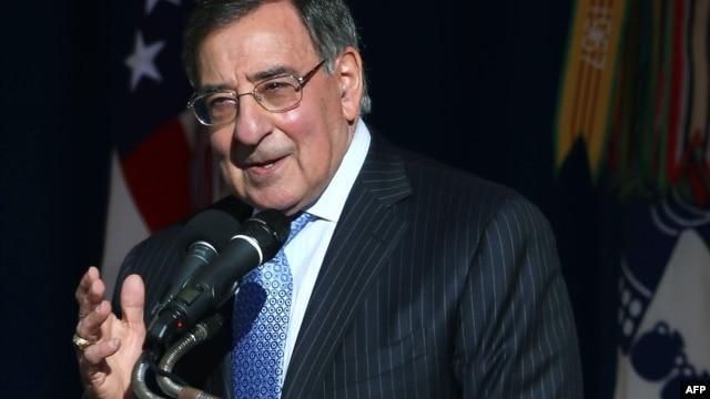 Outgoing U.S. Secretary of Defense Leon Panetta