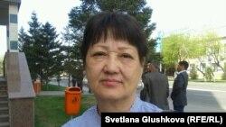 Куляш Омарханова, жительница Астаны. 8 мая 2014 года.
