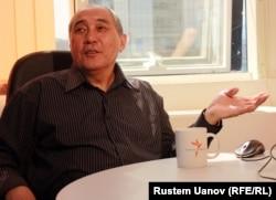 Куралбек Ордабаев, ветеран казахстанского футбола. Алматы, 10 апреля 2013 года.