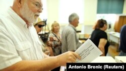 Голосування у Хорватії