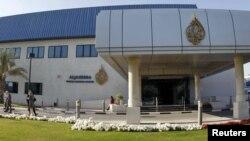 Sediul canalului de televiziune la Doha în Qatar