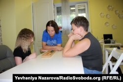 В детском научном клубе в Запорожье