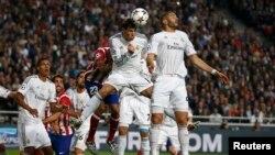 Real Madridi gjatë një ndeshjeje...
