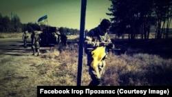 Ігор Прозапас. Донбас, 2014 рік