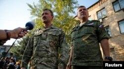 Российские военные наблюдатели на востоке Украины