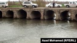 جسر في سهل شارزور