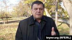 Qırımtatar Milliy Meclisiniñ tış alâqa bölüginiñ reberi Ali Hamzin