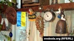 Сувэніры з Украіны ў Вользінай хаце