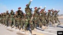 قوات عراقية في إستعراض عسكري