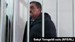 Албек Ибраимов в Октябрьском районном суде Бишкека. 15 января 2019 года.