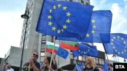 Протестът във Варна. 20 юли 2020 г.