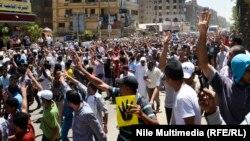 Եգիպտոս - Մուհամեդ Մուրսիի պաշտոնանկության առաջին տարելիցի կապակցությամբ բողոքի ցույց Կահիրեում, 3-ը հուլիսի, 2014թ․