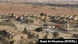 لقطة عامة لمنطقة البغدادي والمجمع السكني فيها