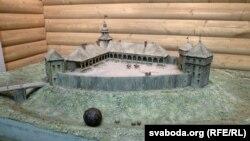 Сьвіслацкі замак урэканструкцыі Асіповіцкага музэю