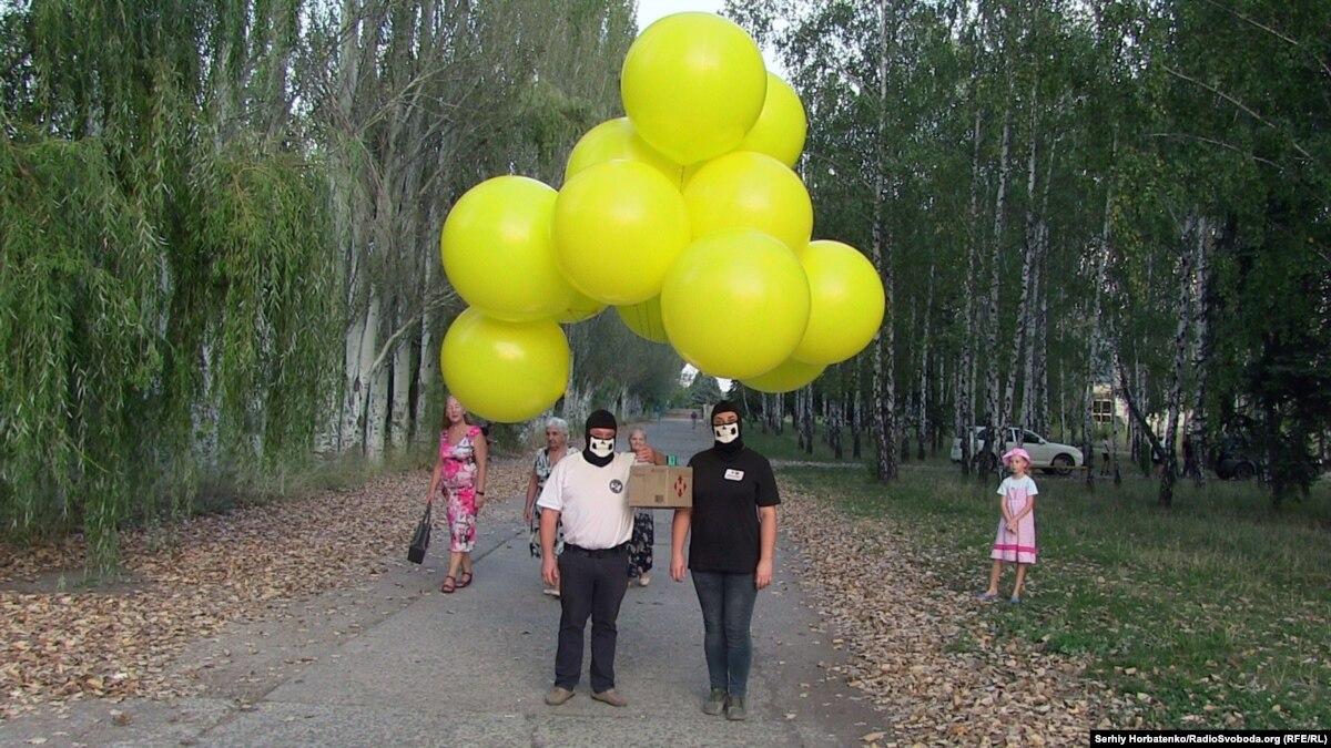«Украина всегда с тобой!»: в Донецк и Горловку по воздуху отправили информационные листовки