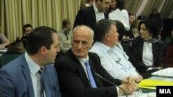Претседателот на Советот Петар Аневски.