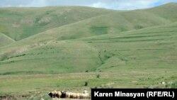 تصویری از کوههای اورتساسار در ارمنستان