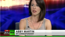 Ведуча Russia Today Еббі Мартін