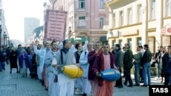 Кришнаиты, архивное фото