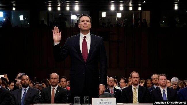 """""""Moj je sud da sam otpušten zbog istrage o Rusiji"""", rekao je Comey svjedočeći pred senatskim odborom prošle sedmice"""