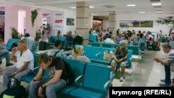 Иллюстрационное фото: зал ожидания аэропорта «Симферополь»