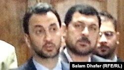 عبد الحسين عبطان الاول من اليسار
