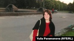Обвиняемая в госизмене Антонина Зимина