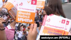 Ermənistanda seçki kampaniyası