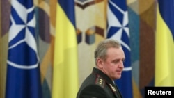 Украина Баш хәрби идарәсе башлыгы Виктор Муженко