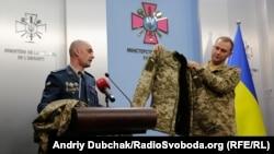 Презентація нової зимової військової форми у Генштабі ЗСУ України