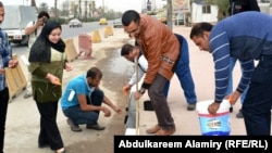 من نشاطات منظمة الشباب العربي في البصرة (من الارشيف)