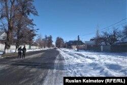Село Октябрьское Сузакского района, 30 января 2020 г.