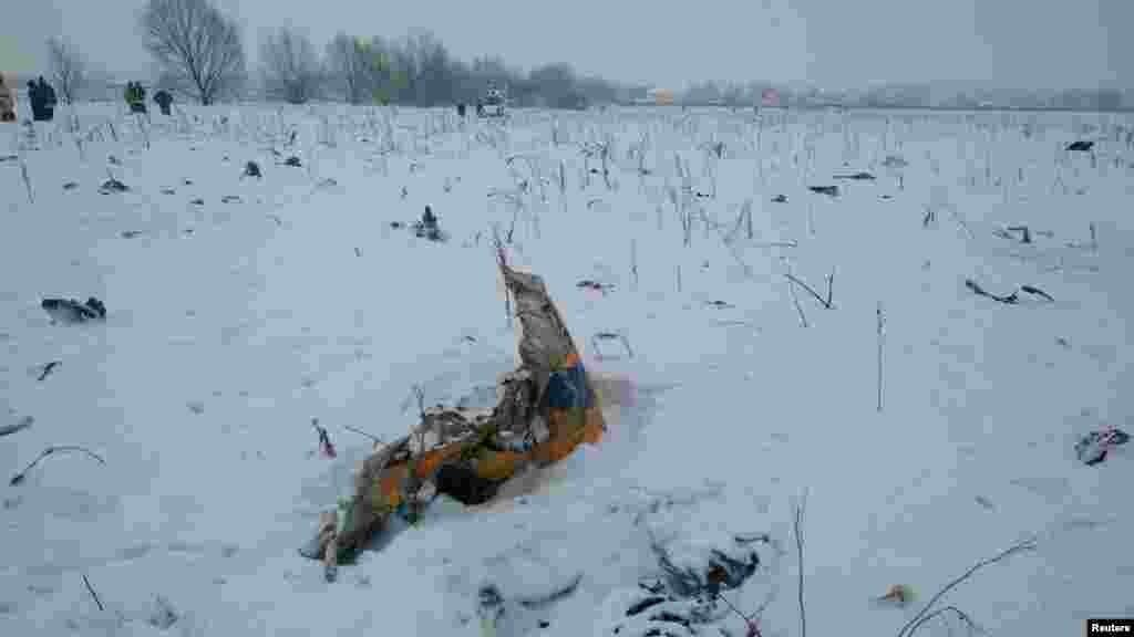 Літаквиконував рейс з Москви в місто Орськ Оренбурзької області, і розбився вдень 11 лютого в Підмосков'ї