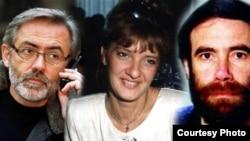 Slavko Ćuruvija, Dada Vujasinović i Milan Pantić