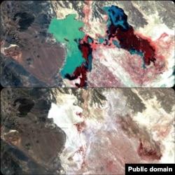 هامون -۱۹۷۶ (عکس بالا) و ۲۰۰۱ (عکس پایین)