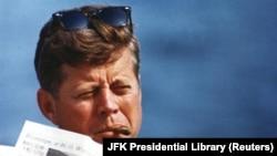 Президент США Джон Кеннеди.