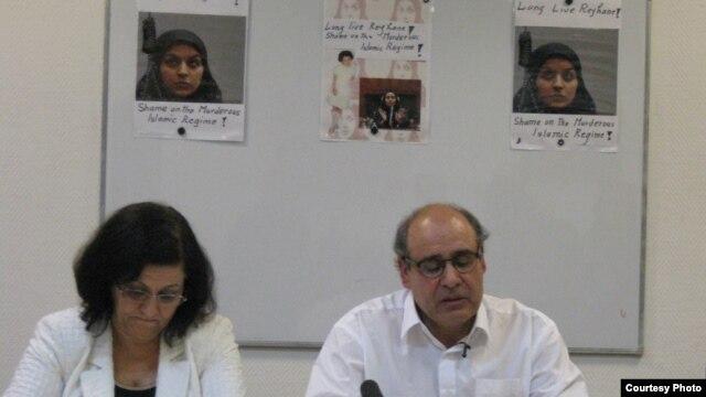 فریبرز جباری (راست)