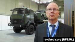 Юры Поўх — прадстаўнік аўтамабільнай кампаніі «Богдан Моторс»