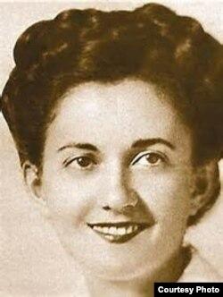 Грета Фридман в молодые годы