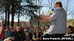 Protest radnika Košute, 27. april 2012.