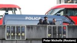 Полиция на месте теракта в Лондоне, 29 ноября 2019 года