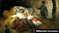 Канстанцін Трутоўскі, «У адрыне» (1872)