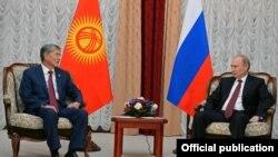 Путин менен Атамбаевдин Бишкектеги жолугушуусу, 13-сентябрь, 2013-жыл.