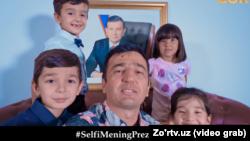 """Фозилҷонов бо клипи """"Селфи бо президенти ман"""""""