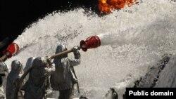 Пожежа на нафтобазі компанії «БРМС-нафта» під Києвом, 10 червня 2015 року