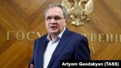 Rusiya prezidenti yanında İnsan Haqları Şurasının sədri Valery Fadeyev