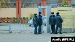Сотрудники полиции в Казани, иллюстративное фото