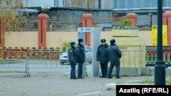 Сотрудники полиции в Казани, иллюстрационное фото