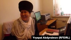 Алима Аманова.