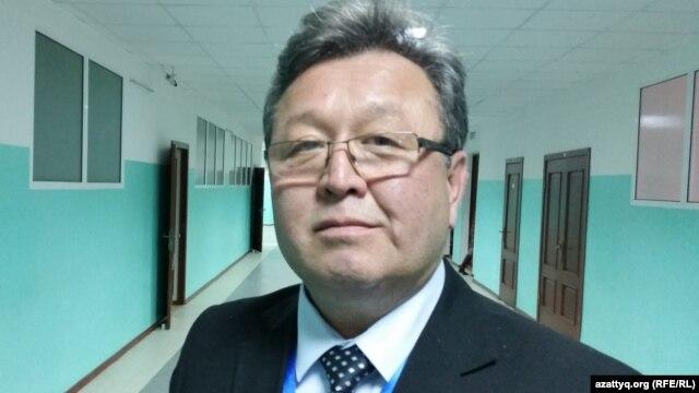 Ұлыбритания қазақ мәдениеті орталығының төрағасы Исмаил Кесижи. Астана, 29 қазан 2015 жыл.